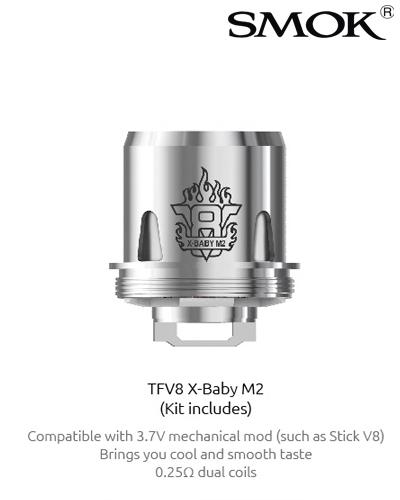 SMOK V8 X-BABY M2 0,25 OHM